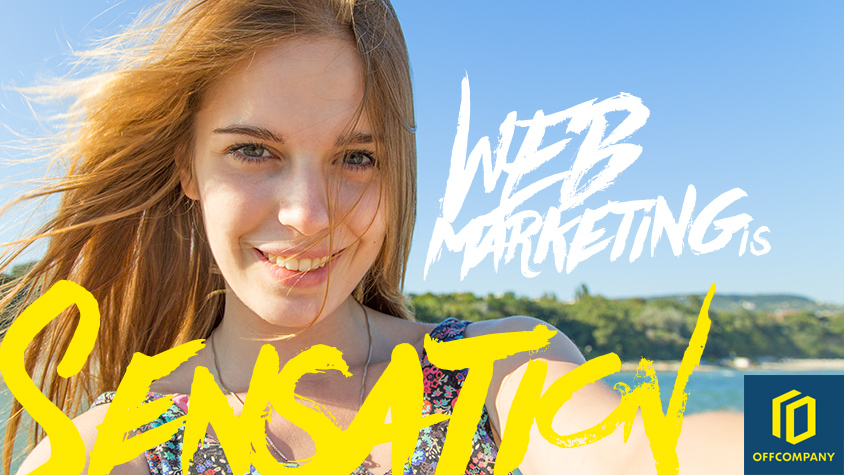 WEB marketing is Sensation|OFFCOMPANY