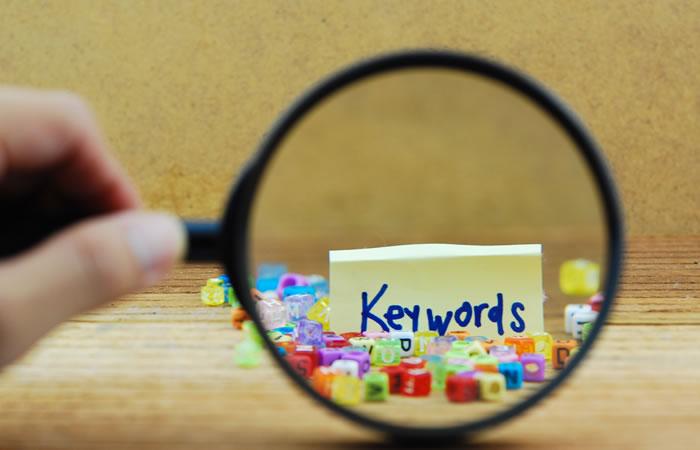 キーワード検索でライバルもチェック