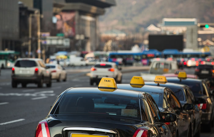 相乗りタクシーの先人、韓国の事情