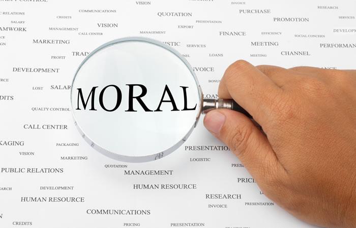 最後は人としてのモラルか