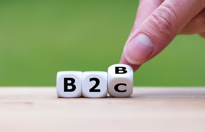 B2BとB2Cにおける、パーソナライゼーション